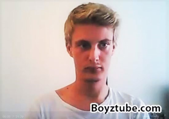 Danish Boy & 5 Facts: Blond+Ass+Asshole+Cock+Cumshot=Camshow