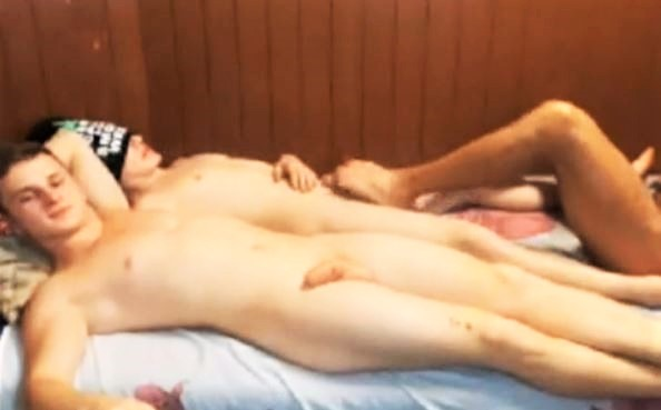 3 Romanian Boys Have Really Fun On Cam