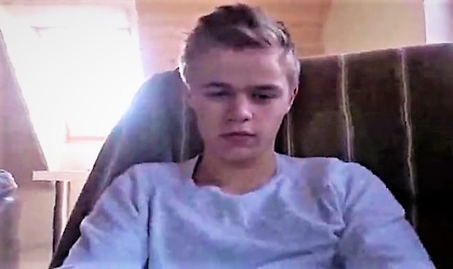 Danish Boy Taking Clothes Of - Masturbation & Cumshot (Cam)