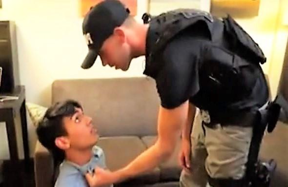 Arrested Young Stealer